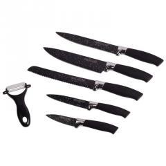 Набор кухонных ножей 6пр./5 ножей+пиллер