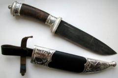 Ножи авторские. Модель 117. Нож охотничий в