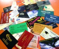 Business cards are color, the printing of business