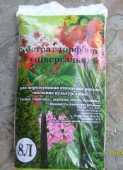 Удобрения торфяные для сельского хозяйства