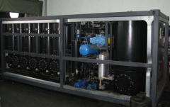 Installation of regeneration of transformer oils