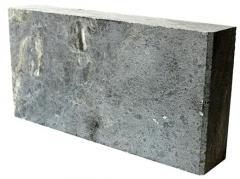 Кирпич из талькомагнезита 240/120/45 мм для бани и