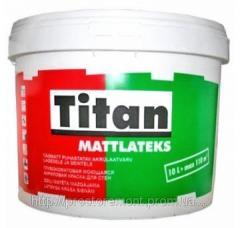 Краска Eskaro Titan Mattlatex TR 9л база
