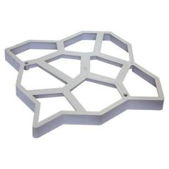 Molds for garden paths