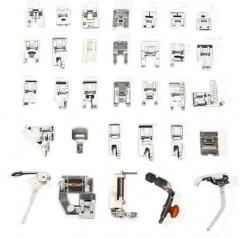 Набор из 32 лапок для швейных машин Singer Baby