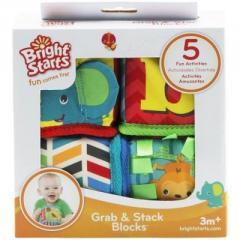 Кубики Bright Starts мягкие Веселая учеба (52160)