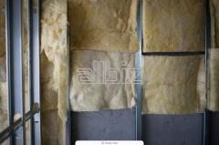 Materials heat-insulating of fiber glass