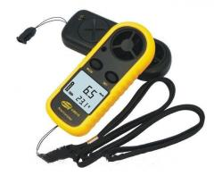 Анемометр цифровой измеритель скорости ветра