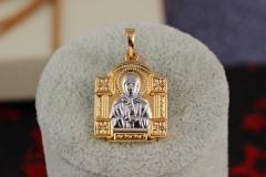 Ладанка Xuping Jewelry квадратная молящаяся Мария