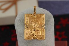 Small icons to wear on the neck