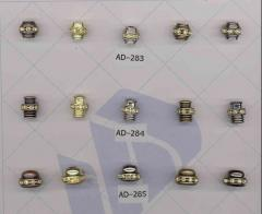 Фиксаторы, наконечники металлические на иглы