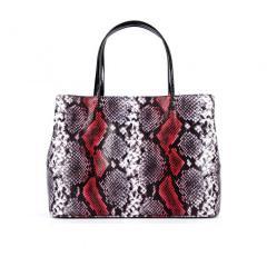 Женская сумка Assa 1088б кожаная с принтом под