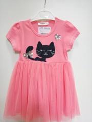Платье-пачка детское с юбкой пачкой
