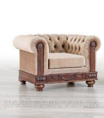 Кресло Манчестер Мебус нераскладное (кожа)