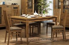 Стол обеденный раскладной Бавария Мебус
