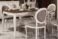 Стол обеденный раскладной (фигурные царги) Палермо