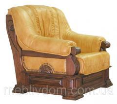 Кресло Консул (в коже) Мебус