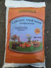 Substratum of peat special 20 l Certificate of