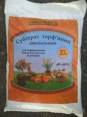 Substratum of peat special 10 l. Certificate of