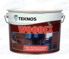 Teknos Teknos varnishes, paints, azures,