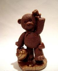 Chocolate figure