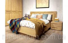 Кровать Амстердам 140х200 с изголовьем (панель