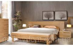 Кровать Амстердам 180х200 с изголовьем (панель