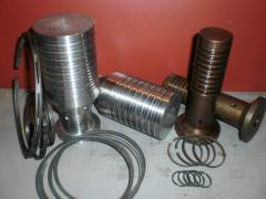 Spare parts for engines under the order from the