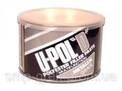 U-POL D Эластичная шпатлевка с алюминием