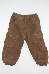 Брюки для мальчика Турист - коричневые, рост 80