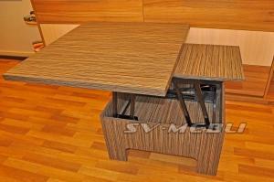 Table folding transformer
