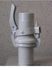 Quick-detachable DU-100 locks for vygruzochny