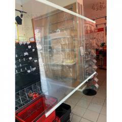 Защитный экран для продавца 1000х700 мм