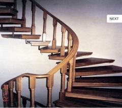 Деревянные лестницы,изготовление,Цена,Киев,Фото