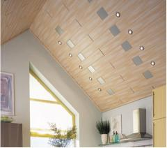 Wooden ceiling panels, for finishing of a ceiling,