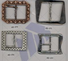 Buckle with pastes