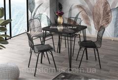 Стол SABIT masa (70*70 см) корпус - металл,