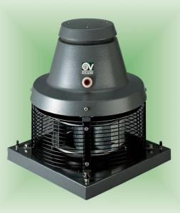 Fan roof Vortive Tiracamino. Smoke exhauster.