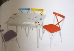 Комплект кухонной мебели стол и 4 стула