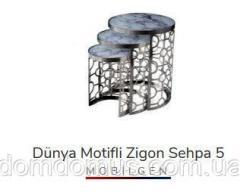 Набор столиков для десерта DUNYA MOTIFLI...