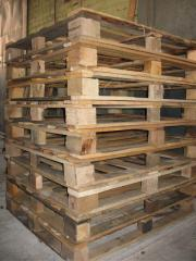 I will sell second-hand pallets 1200х1000 the