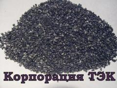 Relit grain, cast carbide of tungsten