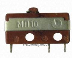 Microswitches for the electronics industry