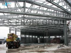Light steel frame building (LSFB)