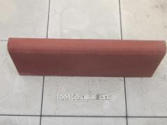 Бордюр 50*20*4,5 см, вес -11кг, цвет - красный,
