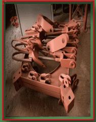 Натяжное устройство с вставкой для мачты, 4-х