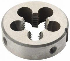 Плашки круглые по ГОСТ 9740-71 М6х0, 5