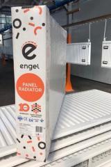 Стальной радиатор Engel 500х500 тип 22 боковое