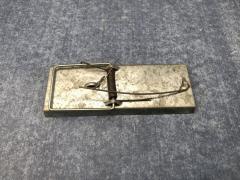 Мышеловка металлическая оцинкованная 110 мм...