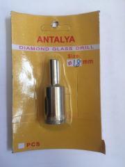 Коронка по стеклу и керамике ANTALYA 10 мм